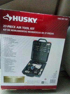 Husky 27-piece air tool kit for Sale in Bailey's Crossroads, VA