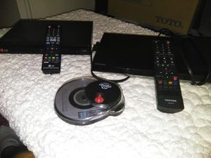 Two DVD players and DVD cleaner for Sale in Delray Beach, FL