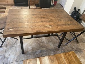 Wooden Kitchen Table for Sale in Philadelphia, PA