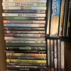 $2 EACH Game & Movie LOT for Sale in Aberdeen, WA