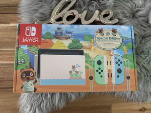 Nintendo Switch Animal Crossing Edition 32GB for Sale in Snoqualmie, WA