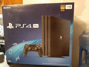 PS4 pro for Sale in Tarpon Springs, FL
