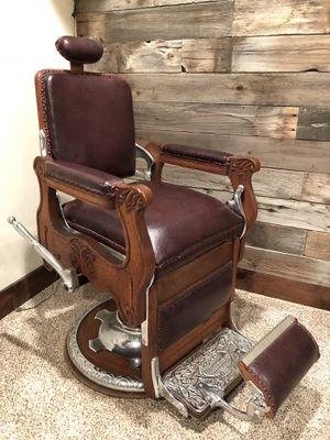 Antique Koken Congress Barber Chair for Sale in Park City, UT