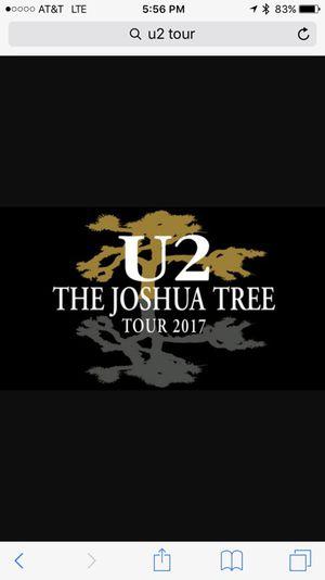U2 Floor Ticket, At Stadium Now! for Sale in Dallas, TX
