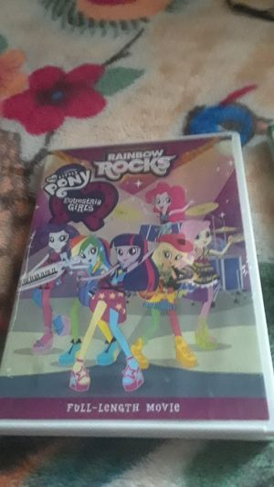 My Little Pony Equestria Girls Rainbow Rock DVD [LOCAL PICKUP ONLY] for Sale in Fairfax, VA