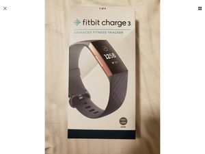 Fitbit Charge 3- Rose Gold Edition for Sale in Mercer Island, WA