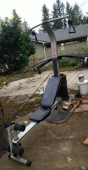 Bowflex type of exercise work out equipment gym for Sale in Kent, WA
