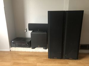 Home theater speakers klipsch for Sale in Bellevue, WA