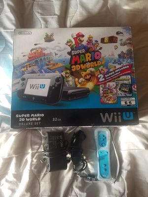 WII U CONSOLE, GAMES AND ACCESSORIES for Sale in North Las Vegas, NV