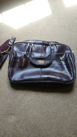 Briefcase..softsided leather by Dante for Sale in Naperville, IL