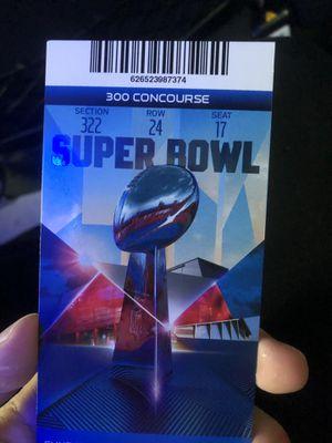 Super Bowl ticket for Sale in Atlanta, GA