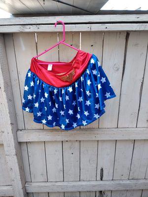 Wonderwoman skirt costume for Sale in Fresno, CA