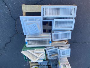 A/C registers- New and Used - Whole pallet for Sale in Phoenix, AZ
