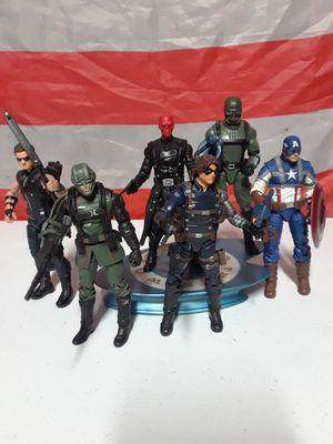 "Marvel universe 3.75"" Captain America lot. Action figure for Sale in Arlington, TX"