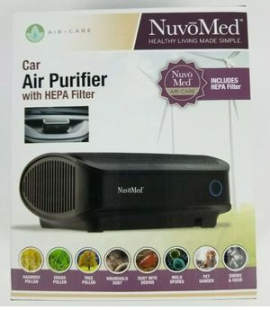 NuvoMed Air-Care Car Air Purifier With Hepa Filter for Sale in Harbor City, CA