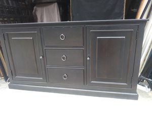 Wood entertainment center tv stand for Sale in Nashville, TN