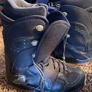 DC Snow board Boots Soze 9.5 Men's for Sale in Menifee, CA