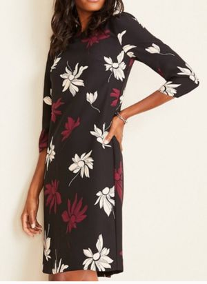 Ann Taylor Floral Puff Sleeve Shift Dress for Sale in Washington, DC