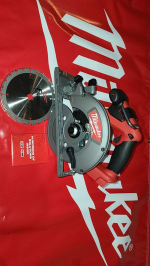 """Milwaukee M18 FUEL Circular Saw 6 1/2"""" (NEW) for Sale in San Diego, CA"""