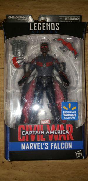 Marvel Legends Avengers Civil War Captain America Falcon for Sale in Chicago, IL