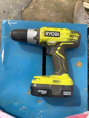 RYOBI ONE+ drill for Sale in Clinton, SC