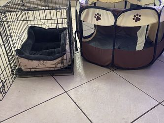 Dog crate + Bed + Playpen for Sale in Tampa,  FL