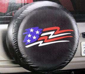 AMERICAN glory USA flag suv truck trailer wheel camper RV rear spare tire cover for Sale in Carmel,  IN