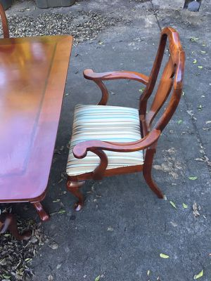 Solid wood dining room chairs for Sale in Nashville, TN
