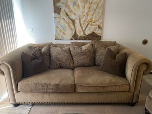 Couch Bernhardt Sofa, Chair, and Ottoman for Sale in Fremont, CA