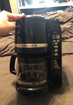 Kitchen aid coffee maker up to 10cups for Sale in Corona, CA