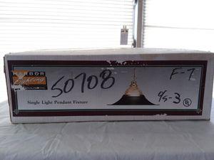 Single Pendant Light Fixture - Harbor Lighting for Sale in Luray, VA