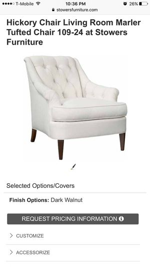 Hickory chair: High End designer Chair for Sale in Rockville, MD