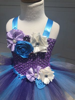 Beautiful flower girl dress birthday dress photography dress for Sale in Manassas, VA