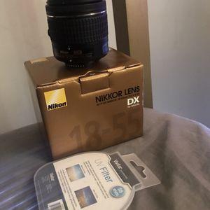 Nikkor Lens 18-55mm Kit Lens for Sale in Euclid, OH