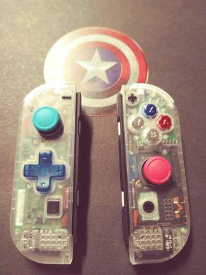 """Captain America Cons"", Custom Nintendo Switch Joy Cons!🇺🇸 for Sale in Kent, WA"