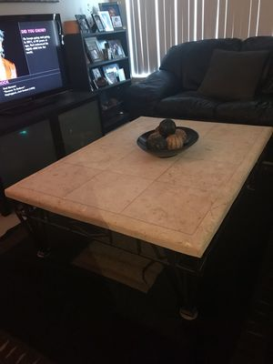 Stone Top Coffee/End Tables for Sale in Scottsdale, AZ