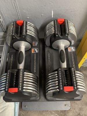 Weider Core Adjustable Dumbbells for Sale in Wheaton, IL