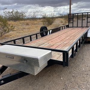 24' Car Hauler Trailer - Fits 2 RZR's for Sale in Mesa, AZ