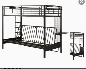 Twin/full futon bunk bed for Sale in Pinellas Park, FL