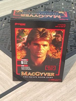 The Escape Room Game - MacGyver for Sale in Burbank, CA