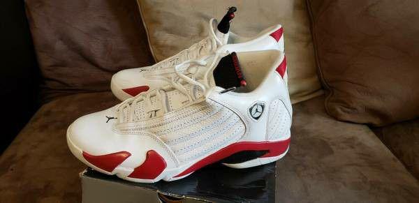 Air Jordan XIV White/Red 2006 Retro Size 12