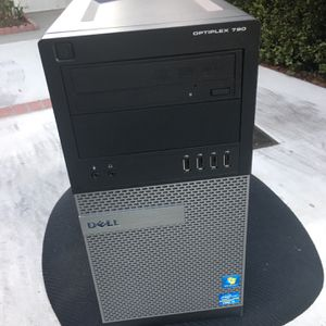 PC COMPUTER FAST i5 Quad Core CPU / Windows 10 / 4 GB / 1000 GB HARD DRIVE RUNS GREAT LOOK for Sale in Artesia, CA
