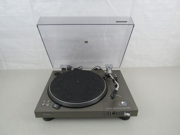 Vintage Sony PS-4300 Direct Drive Stereo Turntable-Working