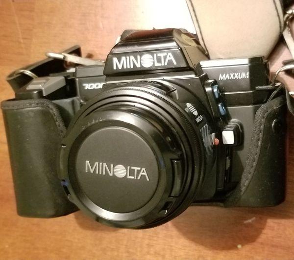 Vintage Minolta Maxxum 7000