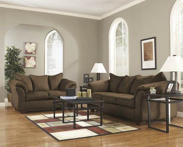 $39 Down - FREE Delivery 🍃 Best PRİCE🍃 SPECIAL] Darcy Cafe Living Room Set 54