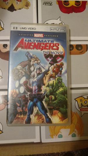 Ultimate avengers psp UMD movie for Sale in Santa Maria, CA