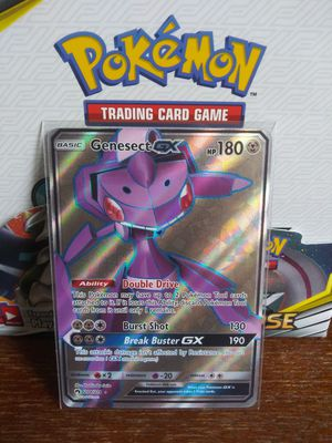 POKEMON GENESECT GX FULL ART HOLO MINT CONDITION!!! for Sale in Pomona, CA