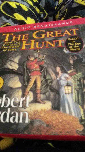 The great hunt CD audiobook for Sale in Abilene, TX