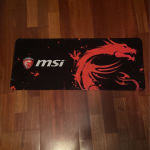 Msi Gaming Mouse Pad Xl for Sale in North Port, FL