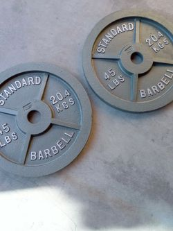 Olympic Weight 45lb Pair for Sale in Las Vegas,  NV